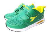 『雙惠鞋櫃』◆DIADORA迪亞多那◆中童款 透氣  機能鞋墊 耐磨  童運動慢跑鞋◆(DA3885) 綠