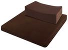 源之氣【Q小方加高+加大四方】RM-40252竹炭靜坐墊組/二色可選-台灣製