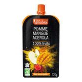 Vitabio 有機優鮮果PLUS蘋果芒果120G-法國原裝進口12個月以上嬰幼兒專屬副食品