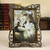 家居-相冊復古奢華歐式相框擺臺7寸6寸六七寸 婚紗照照片框相架可掛墻