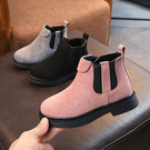 童鞋女童靴子2019秋冬季新款兒童馬丁靴女加絨公主短靴小童二棉鞋