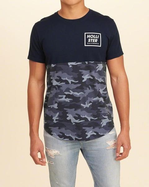 HCO Hollister Co. 男 當季最新現貨 短袖T恤 Hco M384