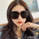 太陽鏡 2021新款網紅街拍女士太陽眼鏡潮大框顯瘦墨鏡時尚復古歐美太陽鏡 16【快速出貨】