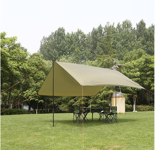 戶外遮陽鋼管天幕 防水防曬多功能地布