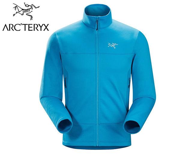 丹大戶外【Arc'teryx】始祖鳥 Arenite Jacket男抓絨保暖外套 5013316234AB 亞得里亞海藍