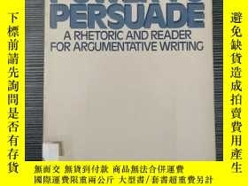 二手書博民逛書店THE罕見POWER TO PERSUADE A Rhetori