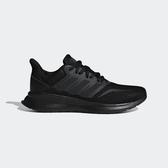 ADIDAS RUNFALCON K [F36549] 大童鞋 運動 休閒  慢跑 避震 健身 球鞋 愛迪達 黑灰