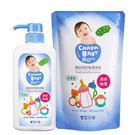 【奇買親子購物網】雪芙蘭親貝比 嬰幼兒奶瓶清潔劑超值組(1+1)