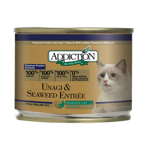 【寵物王國】ADD自然癮食-鰻魚海苔貓罐185g