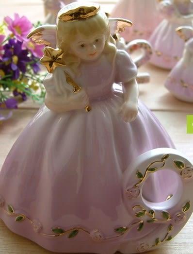 [協貿國際]  歐式陶瓷歲數小天使9-12歲精美擺件(單個價)