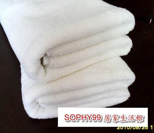 批發純棉白浴巾