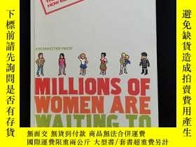 二手書博民逛書店英文原版罕見MILLIONS OF WOMEN ARE WAIT