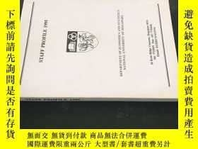 二手書博民逛書店STAFF罕見PROFILE 1995Y258675