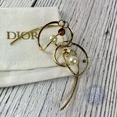 BRAND楓月 Christian Dior 迪奧 珍珠造型 耳環 經典款 配件 配飾 耳針 飾品 小物