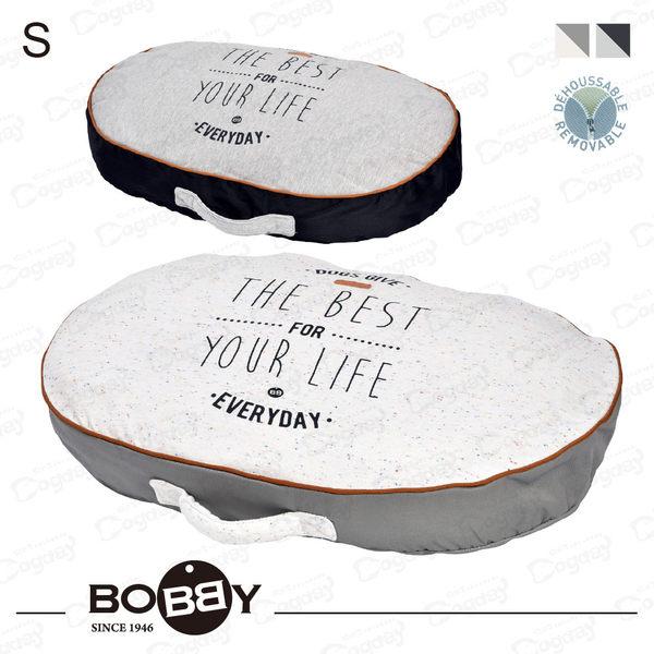 法國《BOBBY》美好人生厚墊S號 保護關節 小型犬睡墊 馬爾濟斯/貴賓/吉娃娃 方便清潔拆洗
