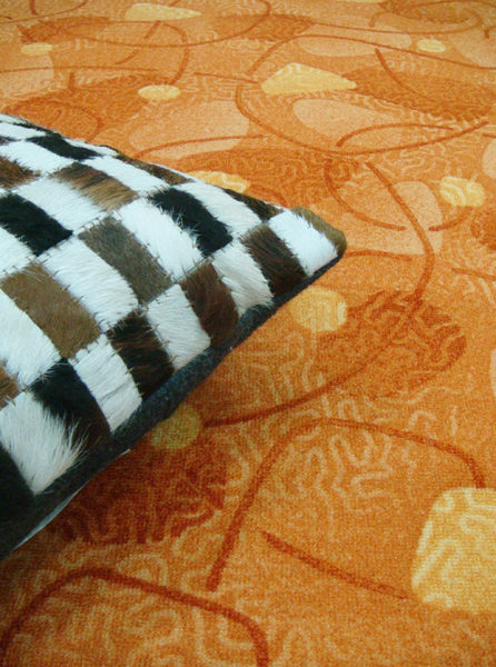 范登伯格 蘭禾圈毛編織地毯-桔-200x260cm