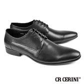 【CR Cerini】正式長楦紳仕鞋 經典黑(57271-BL)