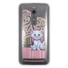 【默肯國際】ASBVC 動漫 迪士尼瑪莉貓愛心款ASUS ZenFone 2 5.5 PC保護殼 ZenFone