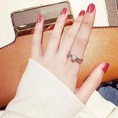 戒指旋轉女日正韓冷淡風潮人尾戒學生個性指環時來運轉網紅食指戒 【好康八九折】