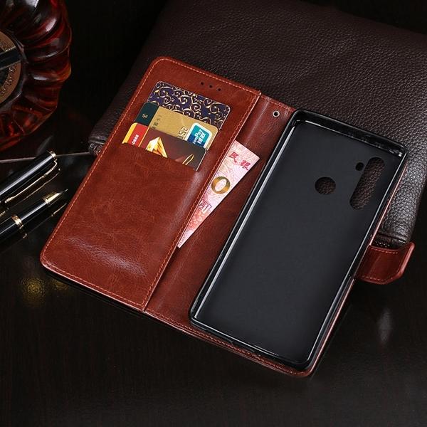 【默肯國際】IN7 瘋馬紋 realme C3 (6.5吋) 錢包式 磁扣側掀PU皮套 手機皮套保護殼