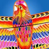 風箏濰坊風箏 長尾鳳凰風箏 微風好飛 大型成人兒童卡通三角風箏cy潮流站