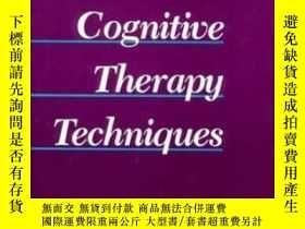 二手書博民逛書店Handbook罕見Of Cognitive Therapy T