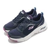 Skechers 健走鞋 Arch Fit-Gentle Stride 藍 紫 女鞋 足部支撐 醫師推薦 運動鞋 【ACS】 149413NVPR