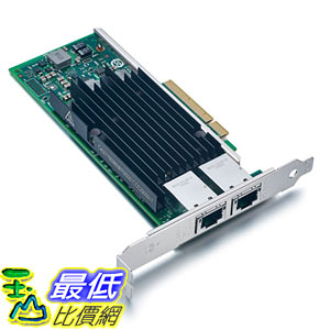 [107美國直購] 網路卡 For Intel X540-T2, 10GbE Converged Network Adapter(NIC), X540 Chipset, PCI-E X8
