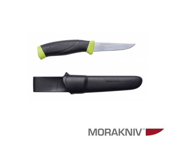 丹大【MORAKNIV】瑞典FISHING COMFORT FILLET 090 不鏽鋼戶外魚刀 黑/綠12207