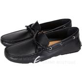 BALLY 綁帶設計牛皮休閒鞋(黑色) 1430331-01