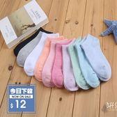 【DIFF】熱賣糖果色系短襪 繽紛色棉襪 【sock01】