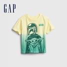 Gap男幼童 Gap x Star Wars星際大戰系列印花短袖T恤 681426-黃綠色