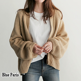 【藍色巴黎】韓版慵懶寬鬆針織長袖外套 毛衣 百搭外套 《2色》【28801】