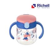 日本Richell利其爾鼠樂團吸管水杯150ML 兒童水瓶