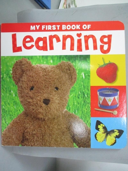 【書寶二手書T8/少年童書_XET】My First book of Learning