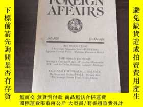 二手書博民逛書店Foreign罕見Affairs (July 1978)Y24
