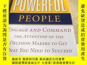 二手書博民逛書店INFLUENCING罕見POWERFUL PEOPLE: 原版