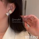 流蘇耳環閃鉆蝴蝶結流蘇長款耳墜2021年新款潮氣質網紅耳飾簡約冷淡風耳環 衣間