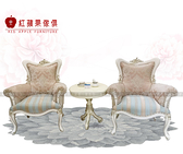 [紅蘋果傢俱] MDS-05 新古典椅子 沙發 法式 奢華  小圓几 桌子 休閒椅 造型桌 咖啡桌 工廠直營