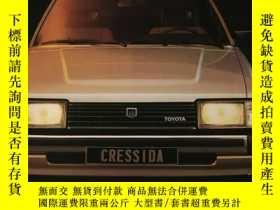 二手書博民逛書店1981年罕見豐田汽車 基先達 TOYOTA CRESSIDA汽