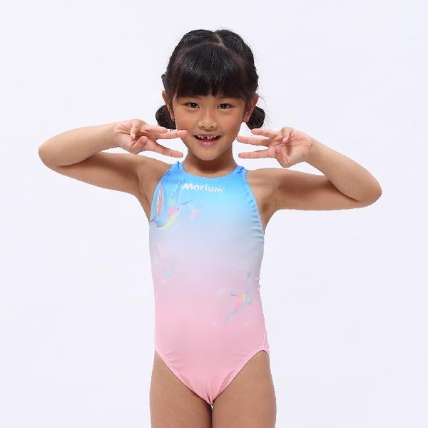 MARIUM 小女競賽型泳裝 -蜂鳥 MAR-20074WJ