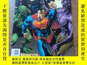 二手書博民逛書店The罕見Adventures Of Superman Comic 1996 #534 DC超人歷險記Y166