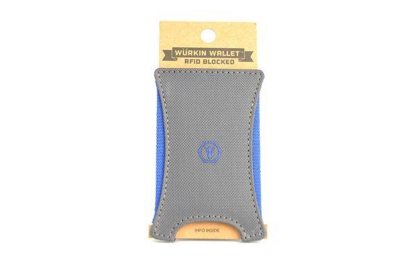RFID防盜超緊實錢鈔票夾 (編織)- 灰色