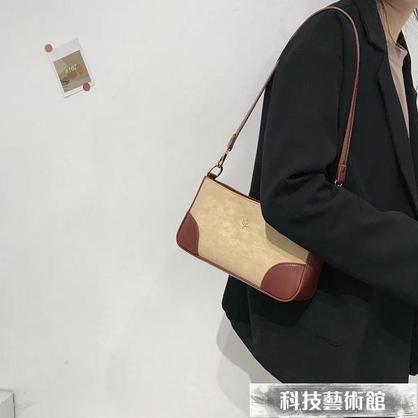 高級感法國小眾包包女2021新款復古by far腋下包單肩手提法棍包 交換禮物