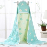 新生兒純棉紗布抱被初生嬰兒包被寶寶春夏季薄款繈褓包巾裹布浴巾 米娜小鋪