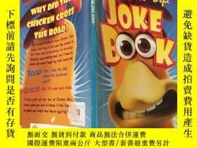 二手書博民逛書店cracked-up罕見joke book:破爛的笑話書:Y200392