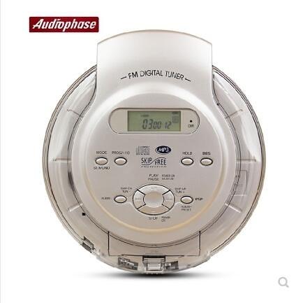 美國Audiologic 便攜式 CD機 隨身聽 CD播放機 支持英語光盤 萬聖節全館免運