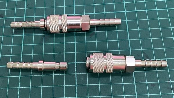 焊接五金網 - CO2焊機氣體快速接頭組