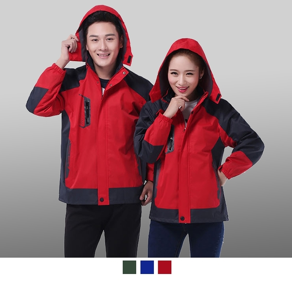晶輝專業團體制服CH182*快遞冬季外套防寒防水一件式工作服棉衣定訂做印刷單買也可以