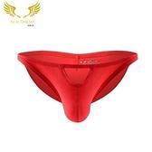 [XL-]△男三角褲△ 槍彈分離 U凸性感設計 透氣 凸囊 男士性感內褲 多色可選 純色 低腰 YUAI_D1198